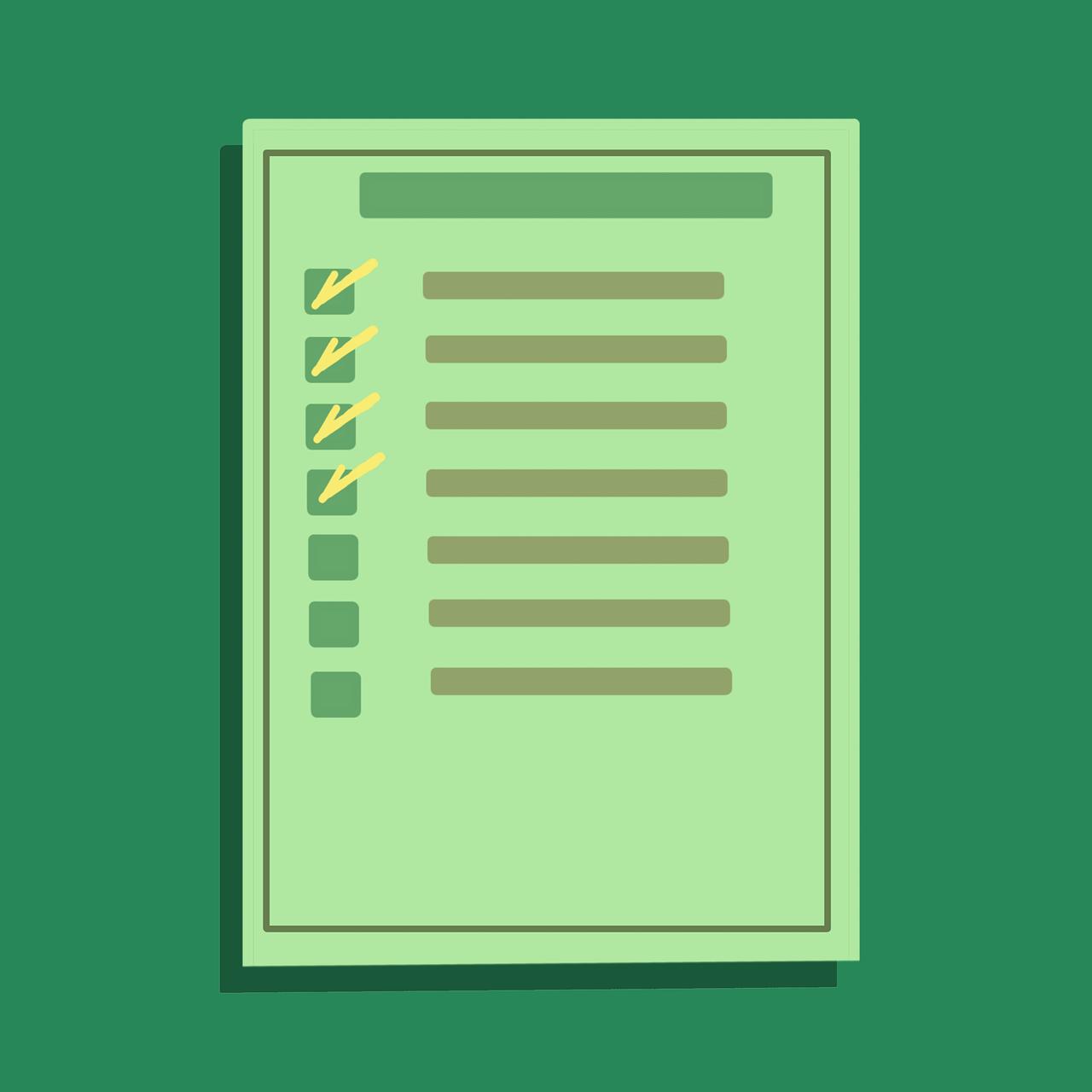 blog ideas list