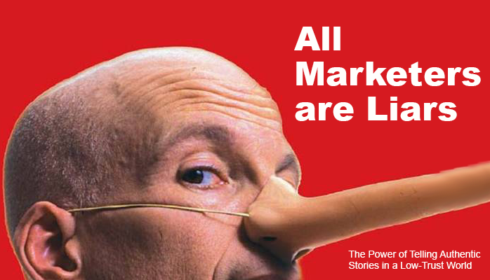 MARKETING BOOKS SETH GODIN all marketers are liars