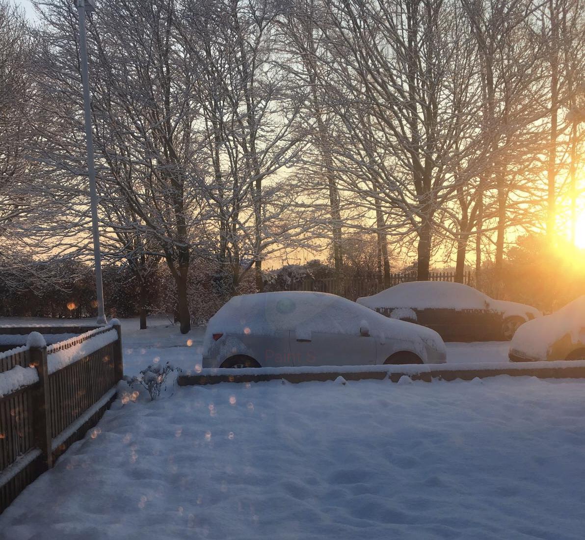 February snow 2018