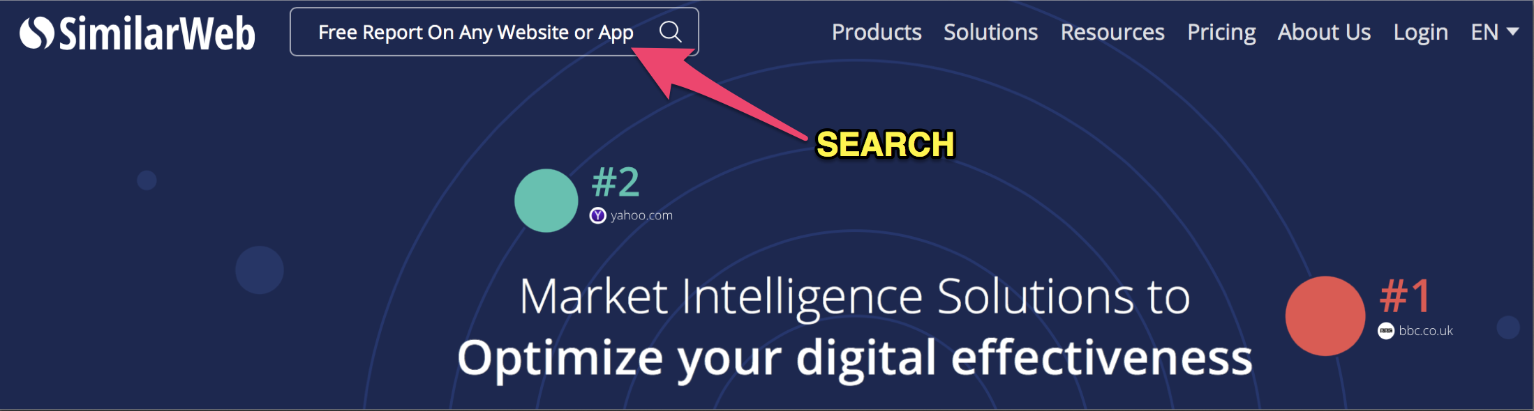 similarweb free tool for marketers