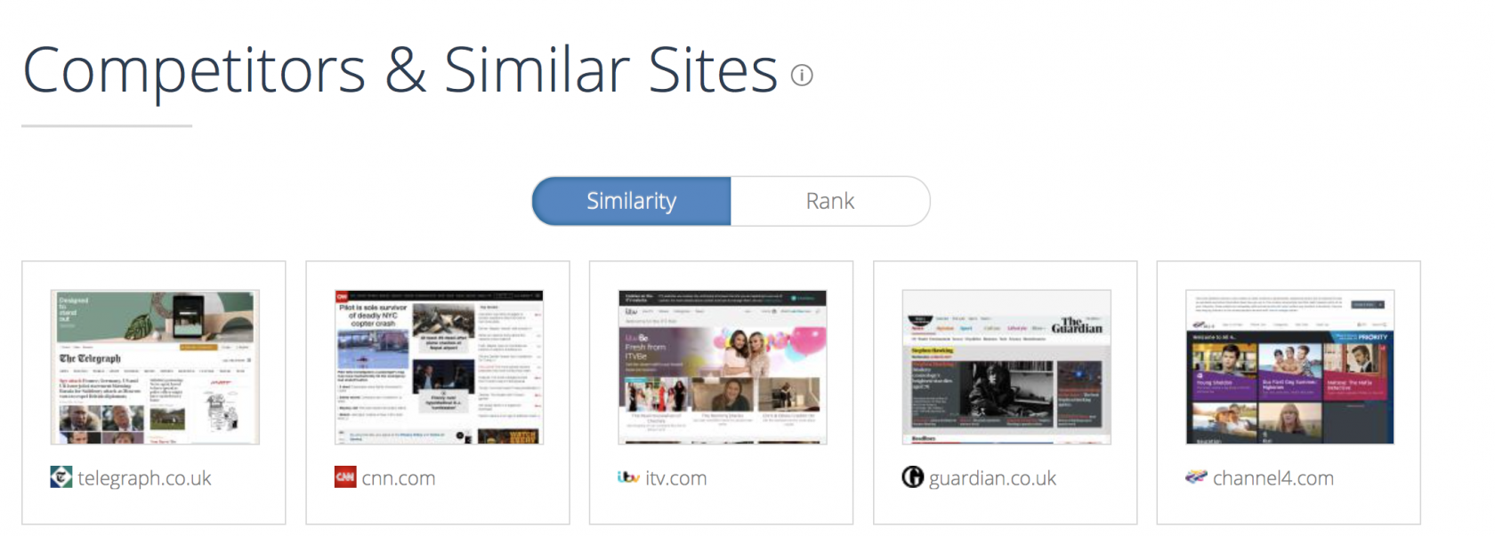 competitor analysis free tool for marketers similarweb