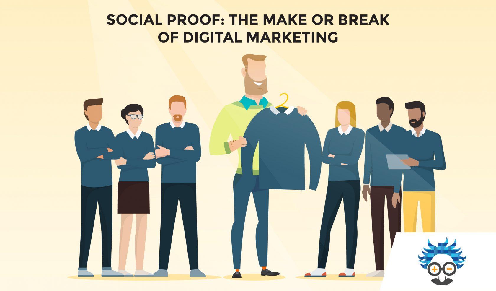 facebook ads plit test social proof