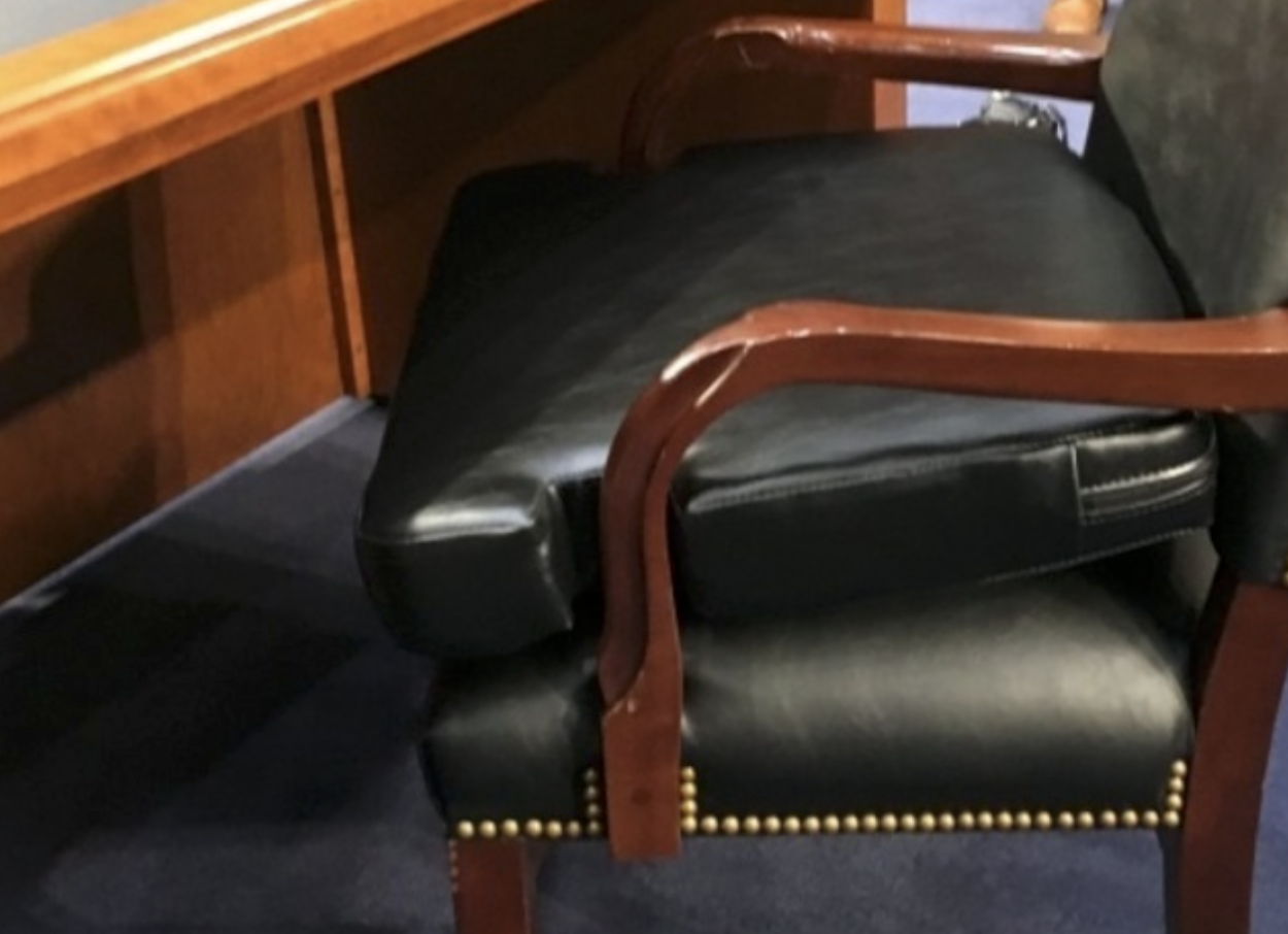 Zuckerberg senate hearing booster seat