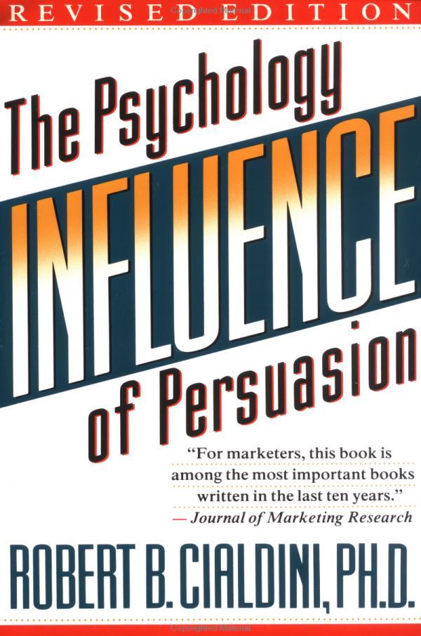 marketing books influence cialdini