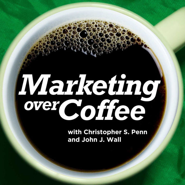 marketing podcasts marketing over coffee