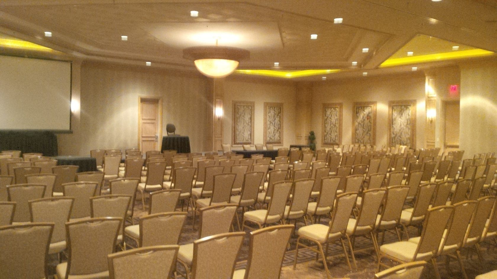 first free event room