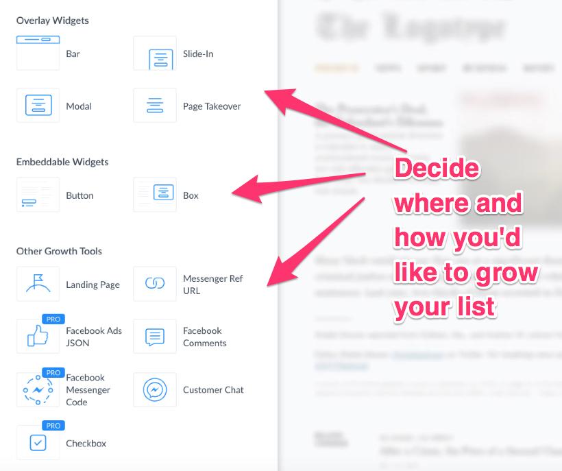 messenger marketing growth tools