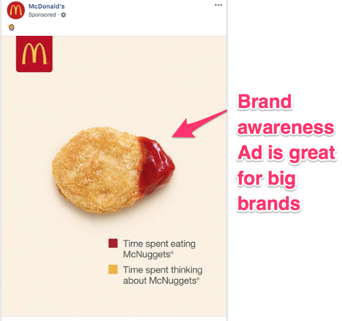 facebook ad campaign objectives guide brand awareness