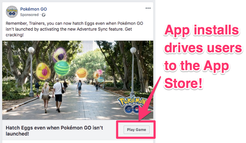 facebook ad campaign objectives guide app installs