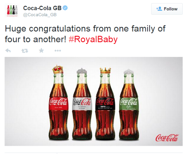 reactive content marketing coca-cola