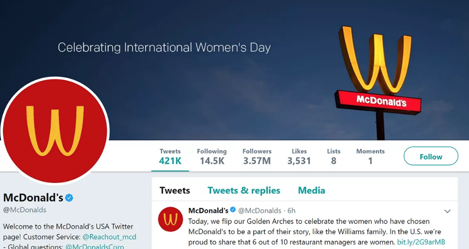 reactive content marketing mcdonalds