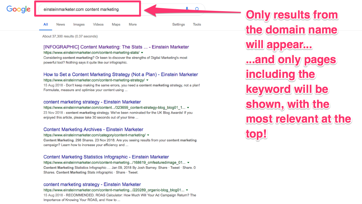 google shortcuts for marketers